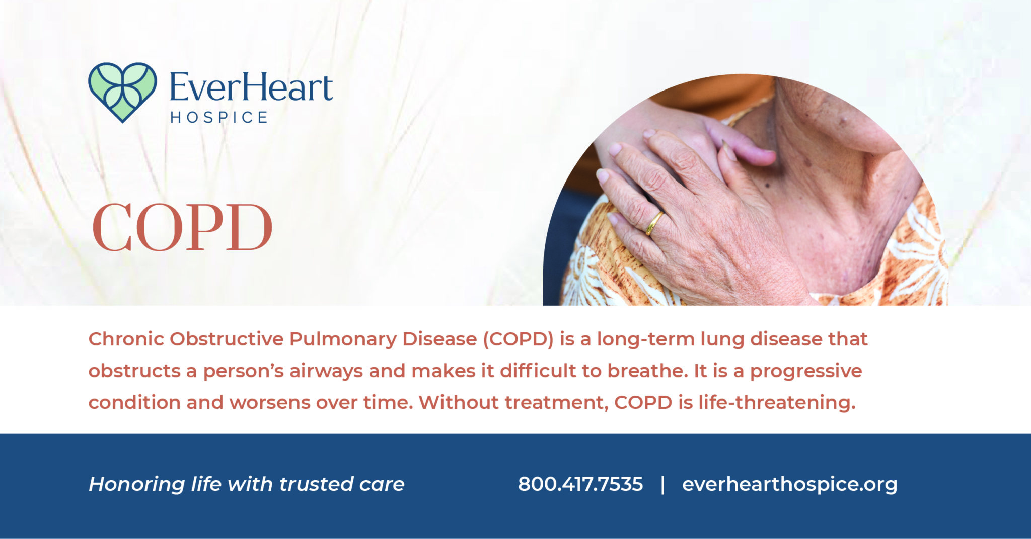 When should COPD patients consider Hospice