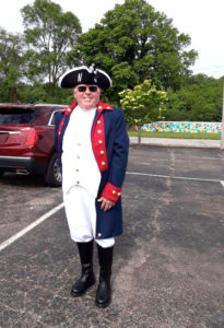 Lee at Sons of American Revolution