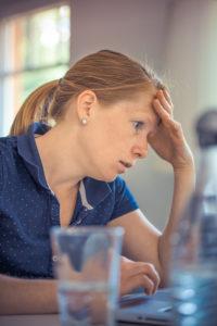 fatigued caregiver